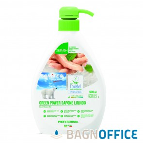 Detergente liquido Green Power 600 ml. (cod. 4004)