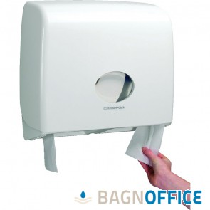"Dispenser carta igienica in rotolo JUMBO linea ""Aquarius"" (cod. 6991)"